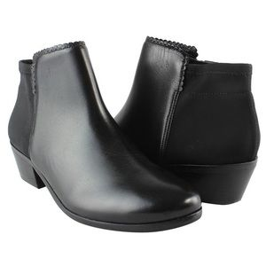 NEW Jack Rodgers Bailee Leather Black booties